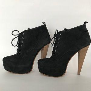 Aldo Shoes - ALDO black spiked high heel boot